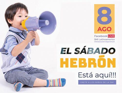 Sábado Hebrón – 8 de Agosto 2020