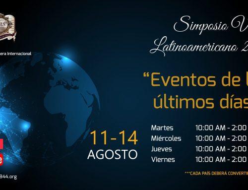 Simposio Virtual Latinoamericano 2020 – del 11 al 14 de agosto de 2020