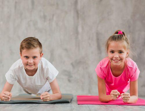 Actividad física: Involucrando a los niños