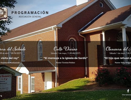 Programación Asociación General – Abr 30-May 1, 2021
