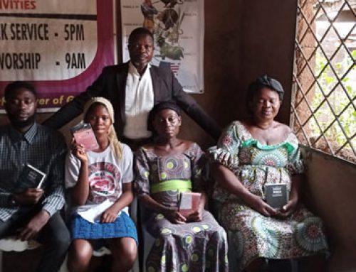 Cuatro almas bautizadas en Nigeria a finales de febrero de 2021