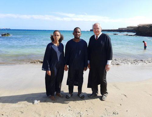 Dos almas más bautizadas en Cabo Verde