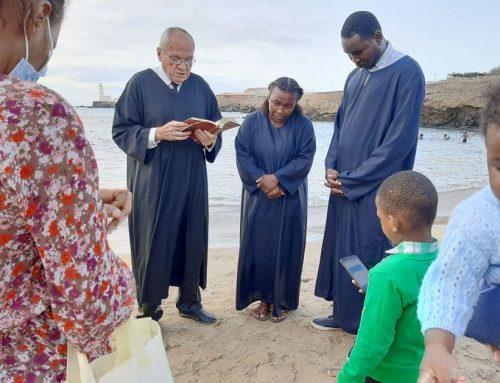 Dos almas bautizadas en Cabo Verde en mayo de 2021