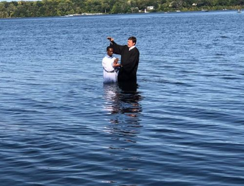 Una alma bautizada ayer en Minneapolis, Minnesota